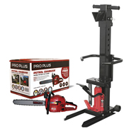 Log Splitters and Chainsaws